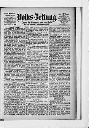 Volks-Zeitung vom 29.03.1900