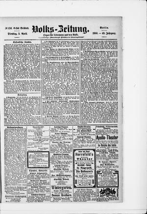 Volks-Zeitung vom 03.04.1900