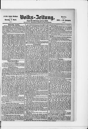 Volks-Zeitung vom 08.04.1900
