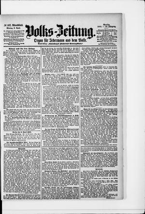 Volks-Zeitung vom 09.04.1900