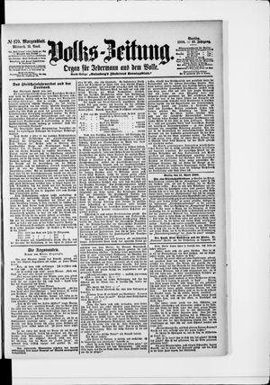 Volks-Zeitung vom 11.04.1900