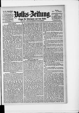 Volks-Zeitung vom 12.04.1900