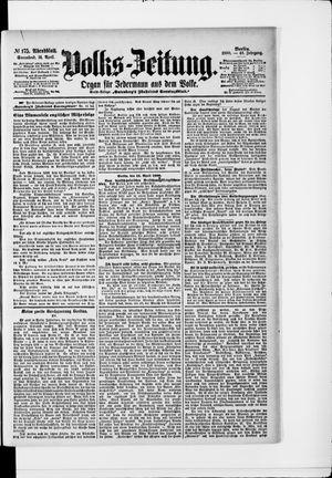 Volks-Zeitung vom 14.04.1900