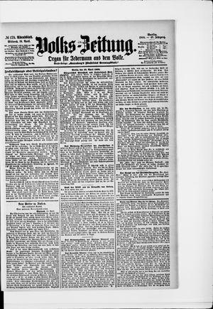 Volks-Zeitung vom 18.04.1900
