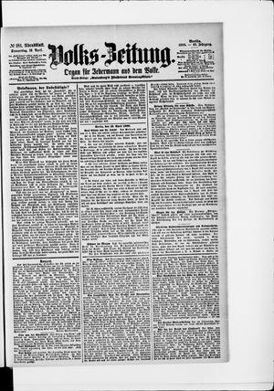 Volks-Zeitung vom 19.04.1900