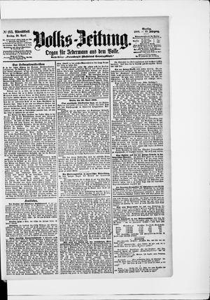 Volks-Zeitung vom 20.04.1900