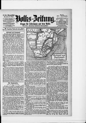 Volks-Zeitung vom 21.04.1900