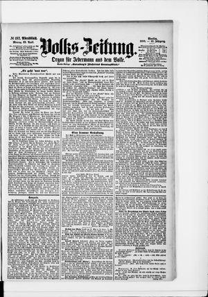 Volks-Zeitung vom 23.04.1900
