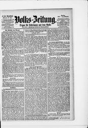 Volkszeitung (25.04.1900)