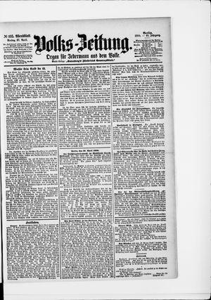 Volks-Zeitung vom 27.04.1900