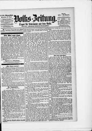 Volks-Zeitung vom 28.04.1900