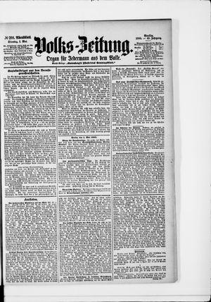 Volks-Zeitung vom 01.05.1900