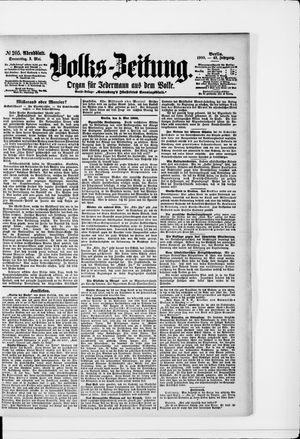Volks-Zeitung vom 03.05.1900