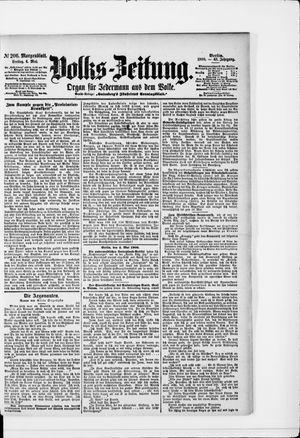 Volks-Zeitung vom 04.05.1900