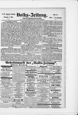 Volks-Zeitung vom 06.05.1900