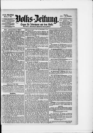 Volks-Zeitung vom 07.05.1900