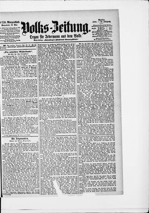 Volks-Zeitung vom 12.05.1900