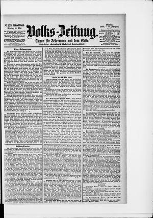 Volks-Zeitung vom 14.05.1900