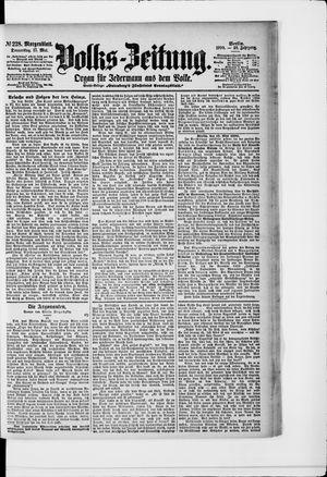 Volks-Zeitung vom 17.05.1900