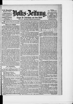 Volks-Zeitung vom 19.05.1900