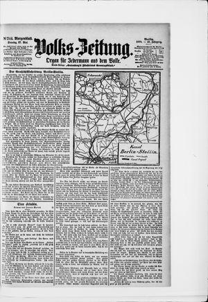 Volks-Zeitung vom 27.05.1900