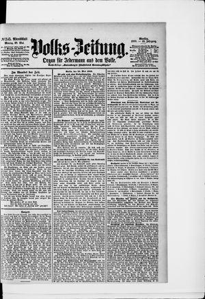 Volks-Zeitung on May 28, 1900