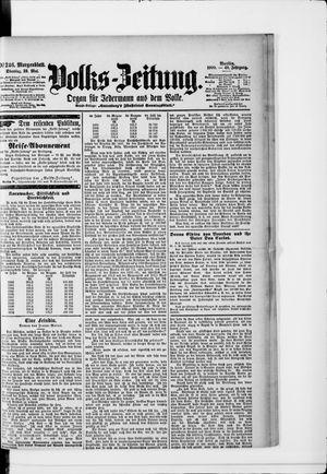 Volks-Zeitung vom 29.05.1900