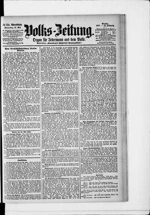 Volks-Zeitung vom 31.05.1900