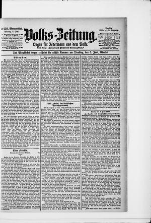 Volks-Zeitung vom 03.06.1900