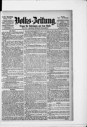 Volks-Zeitung vom 05.06.1900