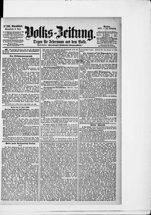 Volks-Zeitung vom 09.06.1900