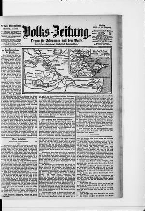 Volks-Zeitung on Jun 13, 1900