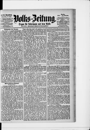 Volks-Zeitung vom 14.06.1900