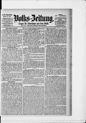 Volks-Zeitung vom 15.06.1900