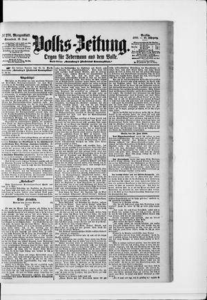 Volks-Zeitung vom 16.06.1900