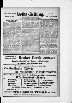 Volks-Zeitung vom 17.06.1900