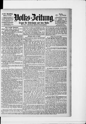 Volks-Zeitung vom 18.06.1900