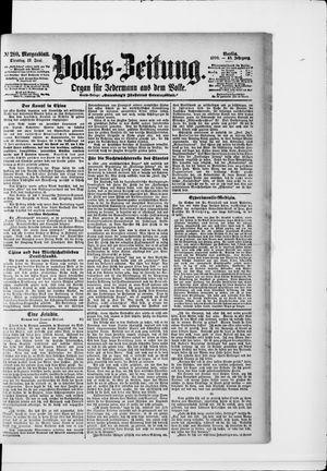 Volks-Zeitung vom 19.06.1900