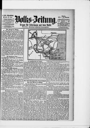 Volks-Zeitung vom 20.06.1900