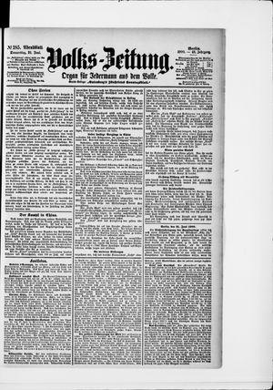 Volks-Zeitung vom 21.06.1900