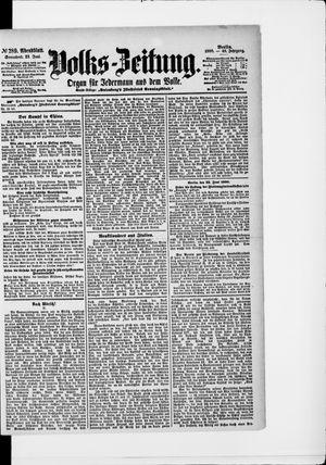 Volks-Zeitung vom 23.06.1900