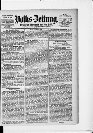 Volks-Zeitung vom 26.06.1900