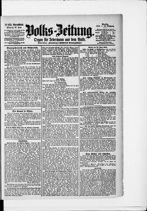 Volks-Zeitung vom 27.06.1900