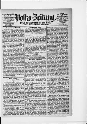 Volks-Zeitung vom 29.06.1900