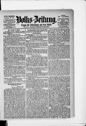 Volks-Zeitung vom 30.06.1900