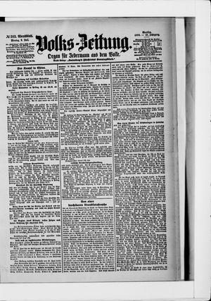 Volks-Zeitung vom 02.07.1900
