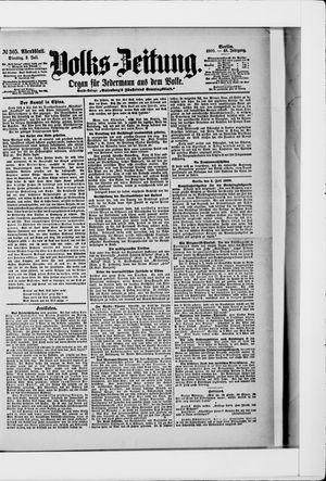 Volks-Zeitung vom 03.07.1900