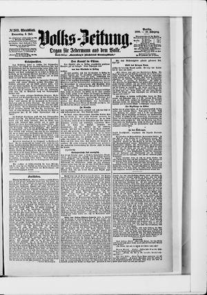 Volks-Zeitung vom 05.07.1900