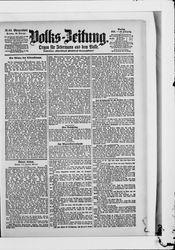 Volkszeitung (21.10.1901)