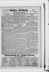 Volkszeitung (31.10.1901)
